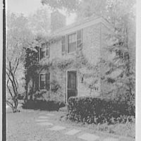 Mrs. Albert H. Marckwald, residence in Bedford Hills, New York. Guest house II