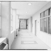 Parkville School, New Hyde Park, Long Island. Corridor