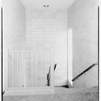 Parkville School, New Hyde Park, Long Island. Stair hall