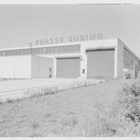 Peter Frasse Steel Co., Lyndhurst, New Jersey. Loading platform from southeast