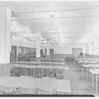 Walter R. Dolan Junior High School, Tom's Rd., Stamford, Connecticut. Cafeteria
