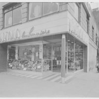 Barton's Bonbonniere, business at 128 Delancey St. Exterior