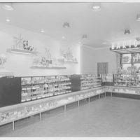 Barton's Bonbonniere, business at 128 Delancey St. Interior II