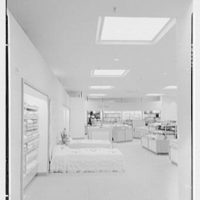 Burdine's department store, business in Miami Beach, Florida. Bath department