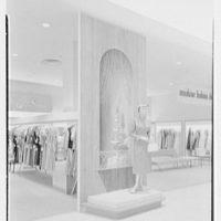 Burdine's department store, business in Miami Beach, Florida. Trompe l'oeil