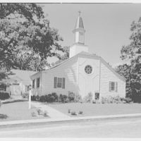 Community Church, Church St., Syosset, Long Island. General exterior