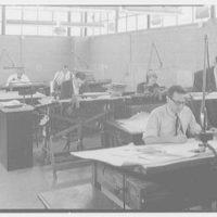 F & R Machine Works, 44-14 Astoria Blvd., Long Island City, New York. Drafting room