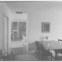 Gerrish Milliken, Jr., residence on Stiles Rd., Yale Farms, Connecticut. Dining room