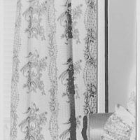 Greeff Fabrics, Inc., business at 4 E. 53rd St., New York City. Emma Cole's house, 29 Garden Pl., Brooklyn Heights, detail of fabrics