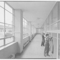 Highland School, Roslyn, Long Island. Corridor