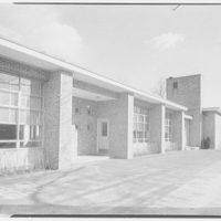 Highland School, Roslyn, Long Island. Rear