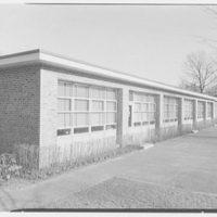 Highland School, Roslyn, Long Island. West facade