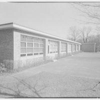 Highland School, Roslyn, Long Island. West facade II