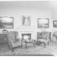 Hirschl and Adler, business at 270 Park Ave., New York City. Fireplace group