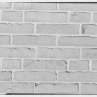 Howard Phipps, residence and garden in Westbury, Long Island. Brick detail