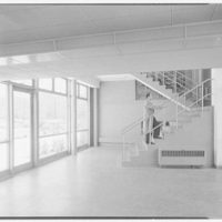 John Thompson Dorrance Laboratory, M.I.T., Cambridge, Massachusetts. Entrance foyer