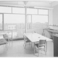 John Thompson Dorrance Laboratory, M.I.T., Cambridge, Massachusetts. Room 611, sizer's office