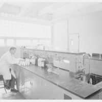 Linen Thread Company's Research Lab, 418 Grand St., Paterson, New Jersey. Research laboratory no. 2