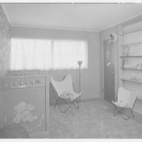 Marble Hills, Huntington, Long Island, New York. Creston house, baby's bedroom