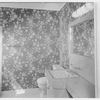 Marble Hills, Huntington, Long Island, New York. Creston house, bathroom