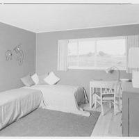 Marble Hills, Huntington, Long Island, New York. Creston house, child's bedroom
