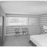 Marble Hills, Huntington, Long Island, New York. Creston house, master bedroom