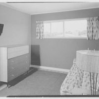 Marble Hills, Huntington, Long Island, New York. Durham house, bedroom