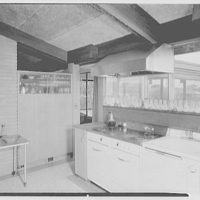 Mr. and Mrs. M. Bassevitch, residence in West Hartford. Kitchen