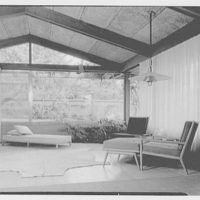 Mr. and Mrs. M. Bassevitch, residence in West Hartford. Living room IV