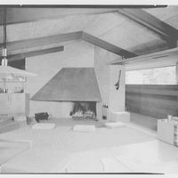 Mr. and Mrs. M. Bassevitch, residence in West Hartford. Living room V