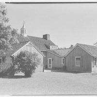 Mrs. Gerrish Milliken, residence on Stiles Rd., Yale Farms, Connecticut. Barn exterior IV