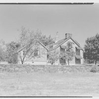 Mrs. Gerrish Milliken, residence on Stiles Rd., Yale Farms, Connecticut. Barn exterior II