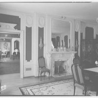 Mrs. R. Clifford Black, residence at 4611 Post Rd., Pelham, New York. Dining room