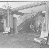 Mrs. R. Clifford Black, residence at 4611 Post Rd., Pelham, New York. Entrance hall