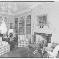 Mrs. R. Clifford Black, residence at 4611 Post Rd., Pelham, New York. Living room I