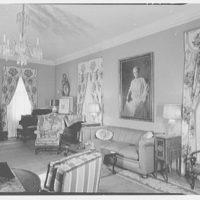 Mrs. R. Clifford Black, residence at 4611 Post Rd., Pelham, New York. Living room II