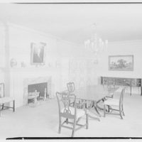 Mrs. Sidney Vere-Smith, residence on North St., Greenwich, Connecticut. Dining room I