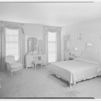 Mrs. Sidney Vere-Smith, residence on North St., Greenwich, Connecticut. Mrs. S. bedroom I