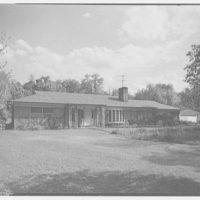 P.K. Leberman, residence on Bryant Ave., Roslyn, Long Island. Entrance facade II