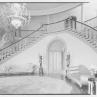 Robert M. Hillas, residence at Indian Harbor, Greenwich, Connecticut. Entrance hall II