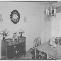 Samuel Herzlinger, residence at 2 5th Ave., New York City. Dining room