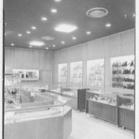 Savitt, business at 80 Church St., New Haven, Connecticut. Diamond watch section