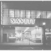 Savitt, business at 80 Church St., New Haven, Connecticut. Exterior general view