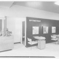 Savitt, business at 80 Church St., New Haven, Connecticut. Exterior, to optometrist