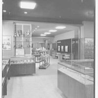 Savitt, business at 80 Church St., New Haven, Connecticut. To stairway by optometrist