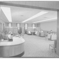 Suffolk County Federal Savings, Babylon, Long Island, New York. Inner lobby