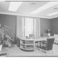 Suffolk County Federal Savings, Babylon, Long Island, New York. President's office