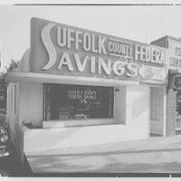 Suffolk County Federal Savings, Smithtown Branch, Long Island. Day exterior I