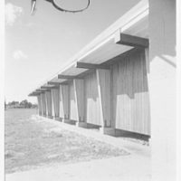 Vero Beach High School, Vero Beach, Florida. Exterior detail