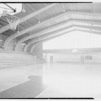 Vero Beach High School, Vero Beach, Florida. Interior of gym